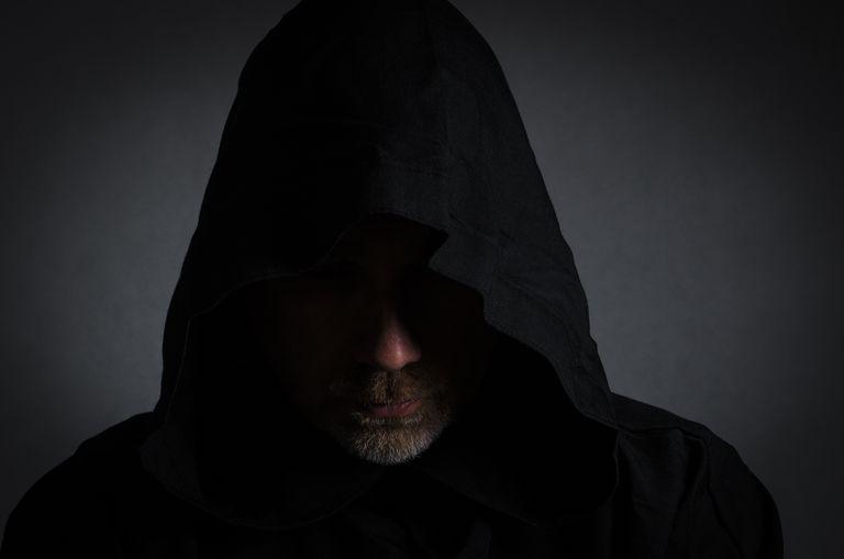 Man in Cloak