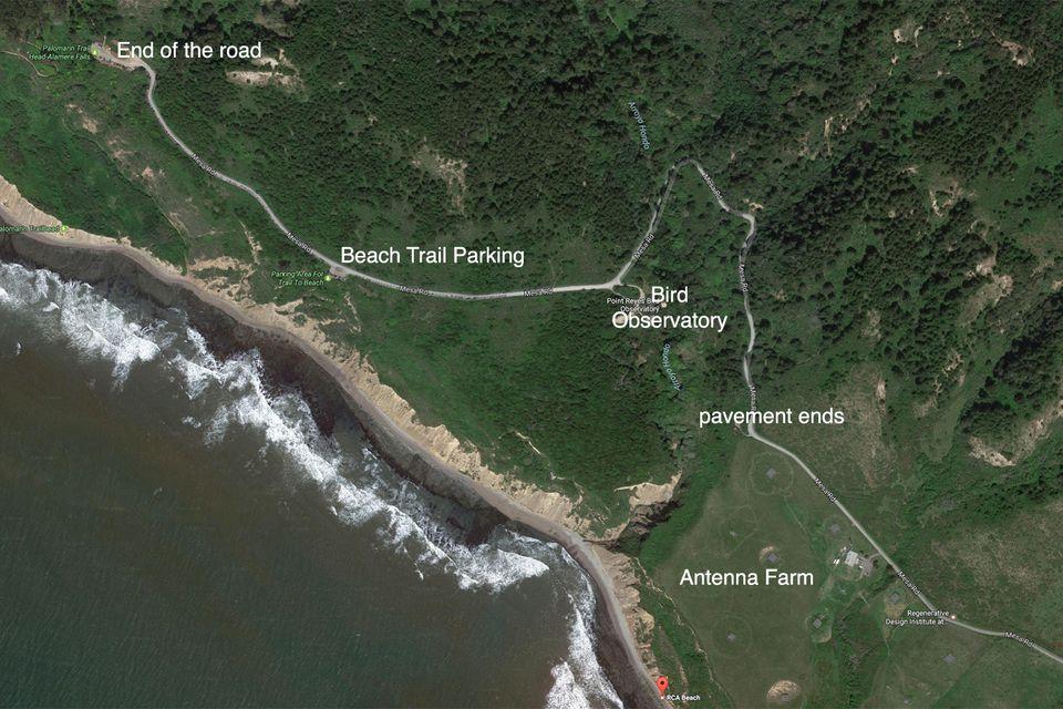 Aerial View of RCA Beach