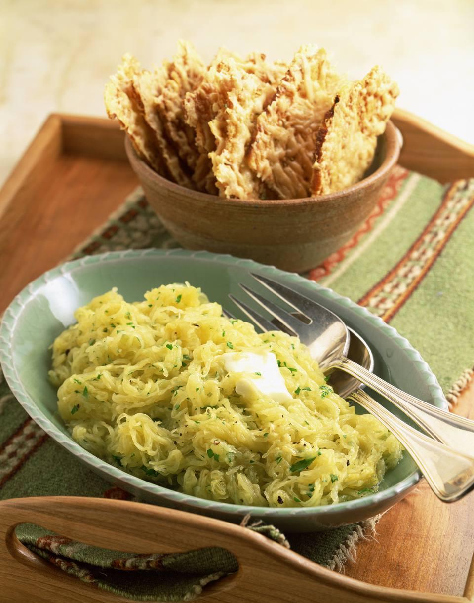 Spaghetti Squash with Parmesan