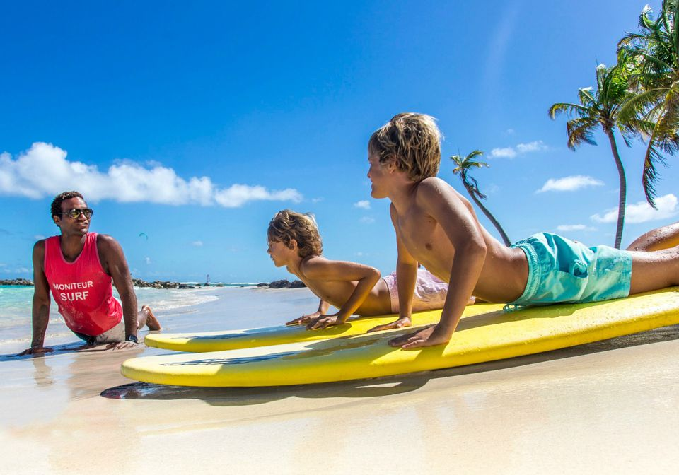 Club Med with Teens | Surf Lessons