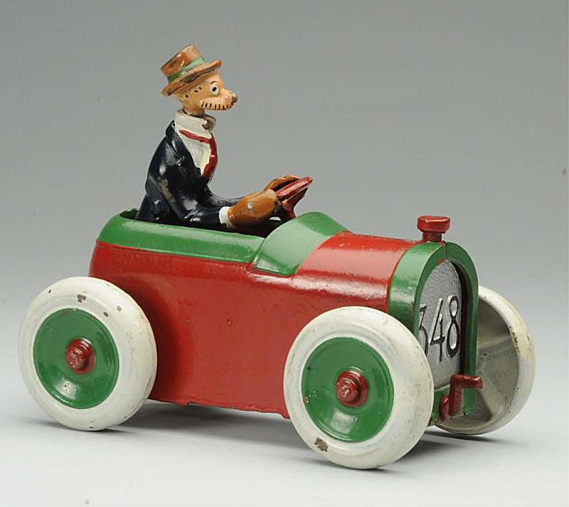 Andy Gump Toy Car