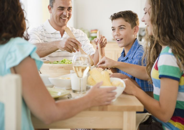 Eat dinner together as a family.
