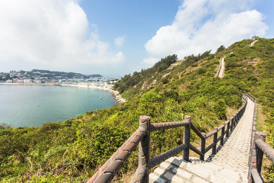 Hiking Trail on Cheung Chau Island