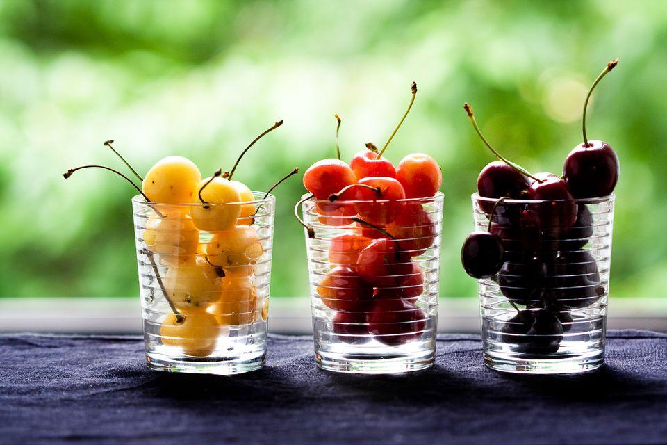 Different Cherry Varieties