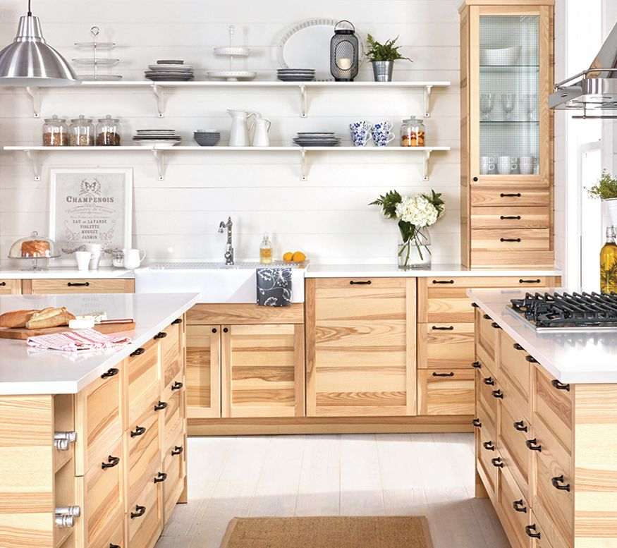 Ikea Kitchen Wood Cabinets: Understanding IKEA's Kitchen Base Cabinet System