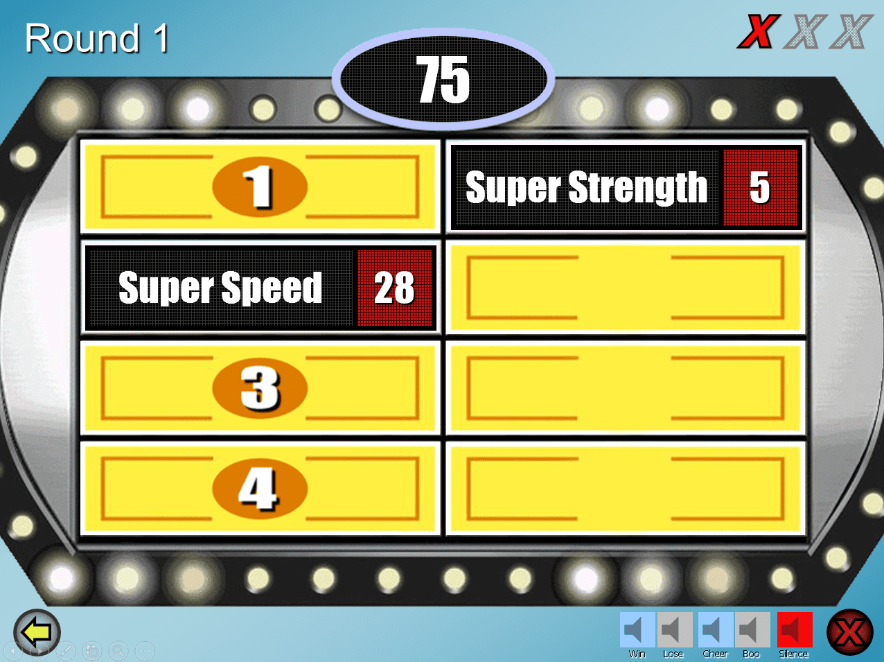 6 free family feud powerpoint templates for teachers, Modern powerpoint