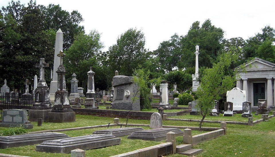 Mount Holly Cemetery in Little Rock, Arkansas