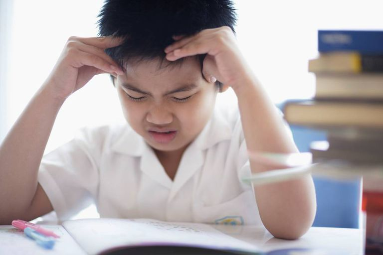 Student struggling with assignment