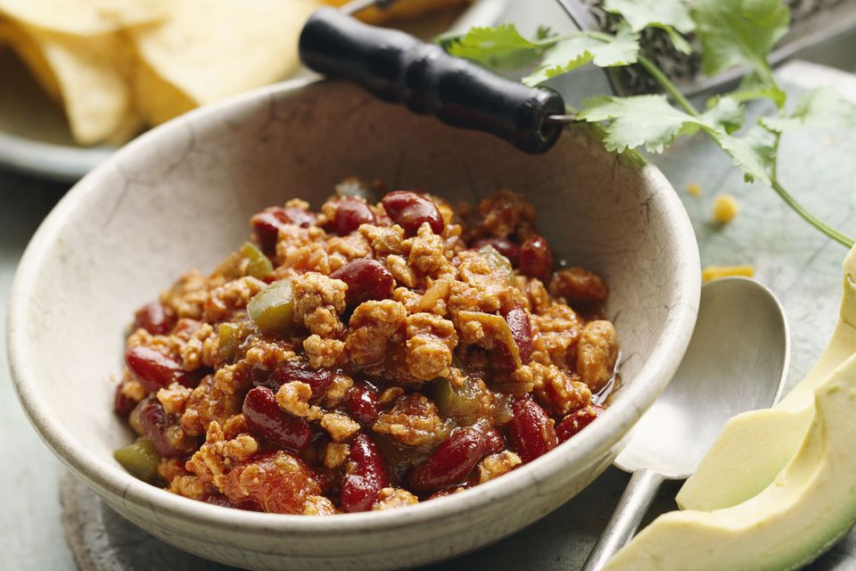 Turkey Chili With Beans
