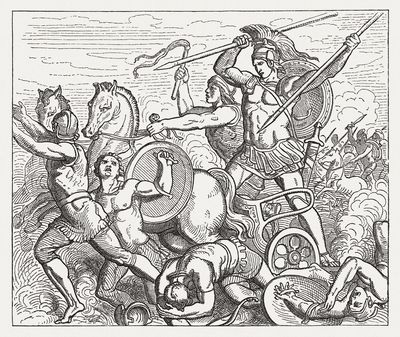 an overview of the historic concept of the trojan war Trojan war, in greek mythology [1], war between the greeks and the people of   the trojan war may have been based on memories of distant historical events,.