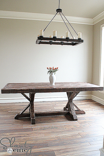 Build Dining Room Table 12 free diy woodworking plans for a farmhouse table