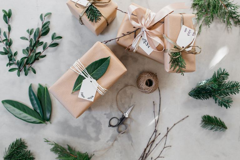 homemade gift wrapping
