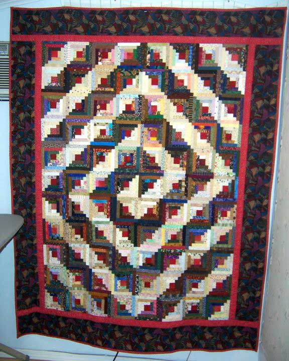 Log Cabin Quilts Photo Gallery and Layout Tips : log cabin quilts patterns - Adamdwight.com