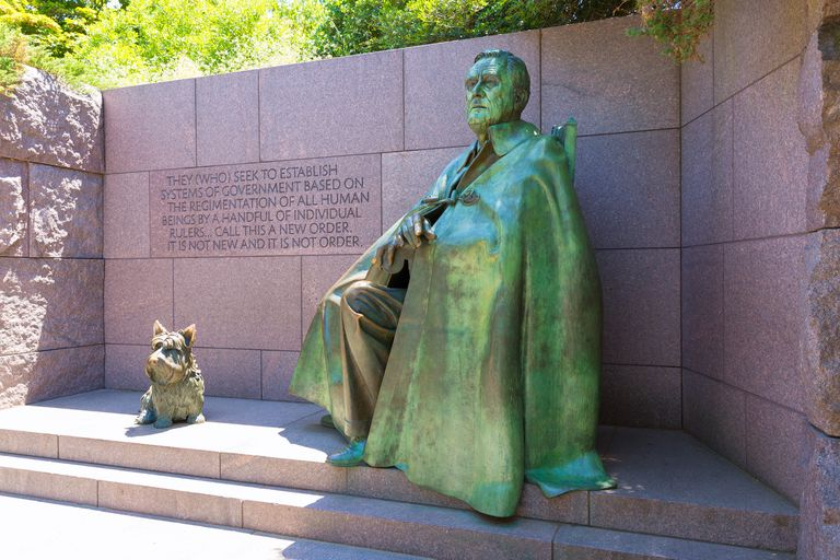 Franklin Delano Roosevelt Memorial Washington