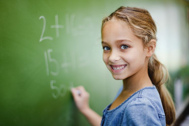 The best tip to getting better at math is to try to understand it rather than just memorize it.