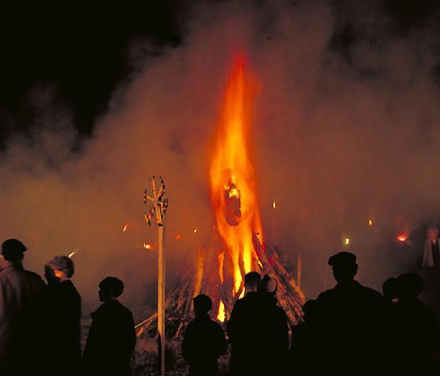 Guy Fawkes Burns