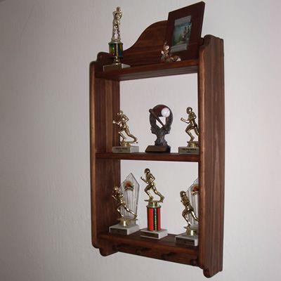 Wooden Knick Knack Shelf