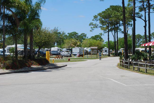Camping Along Florida S I 95