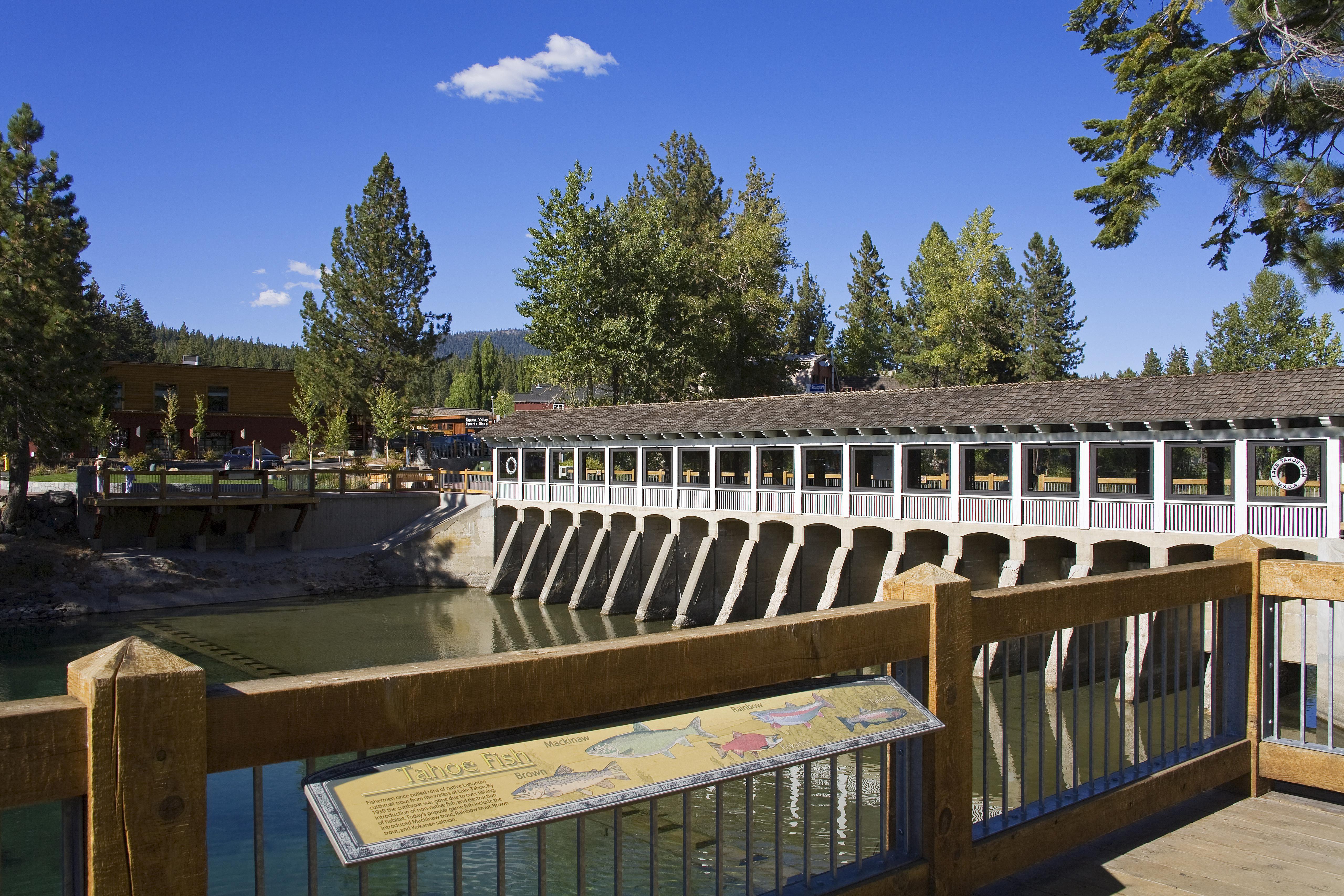 tahoe city dam on truckee river lake tahoe 58c6f40e3df78c353cbd49c9