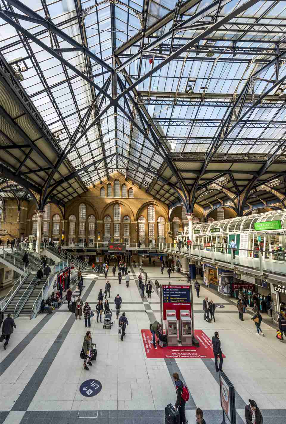 Liverpool Street Station, London, England - UK