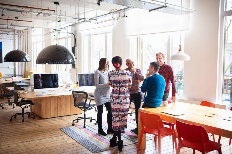 Team Meeting In Office
