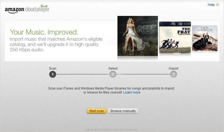Amazon Music Importer
