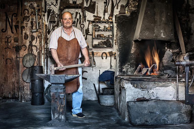 The Schmitz surname means son of Schmidt, a name that means blacksmith.