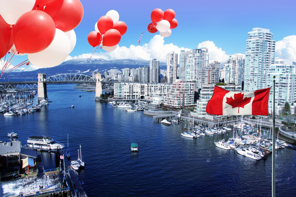Canada Day, Burrard Inlet, Vancouver