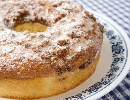 New England Food Blueberry Crumb Coffee Cake