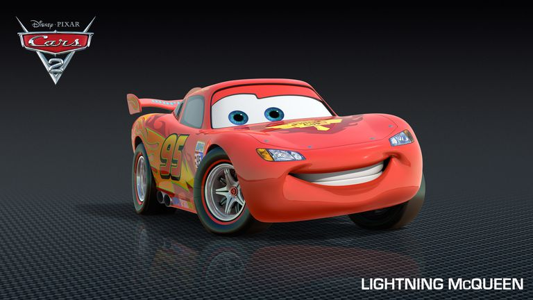 Cars 2 Characters - Characters in Disney Pixar Cars 2 - Lightning McQueen