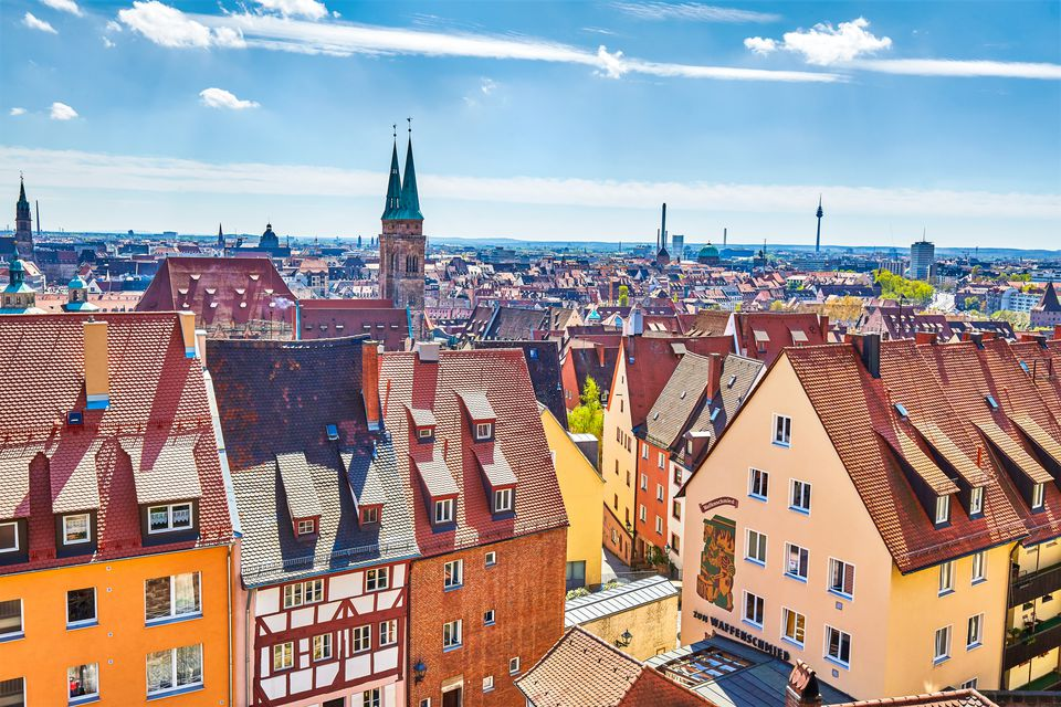 View of Nuremberg, Germany