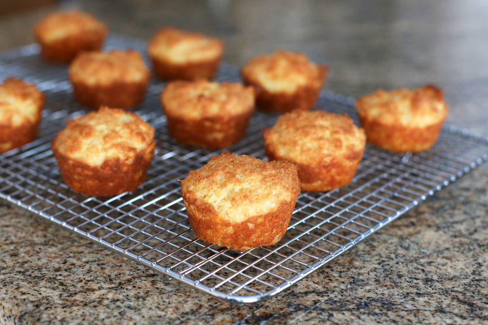 Cheese Cornbread Muffins