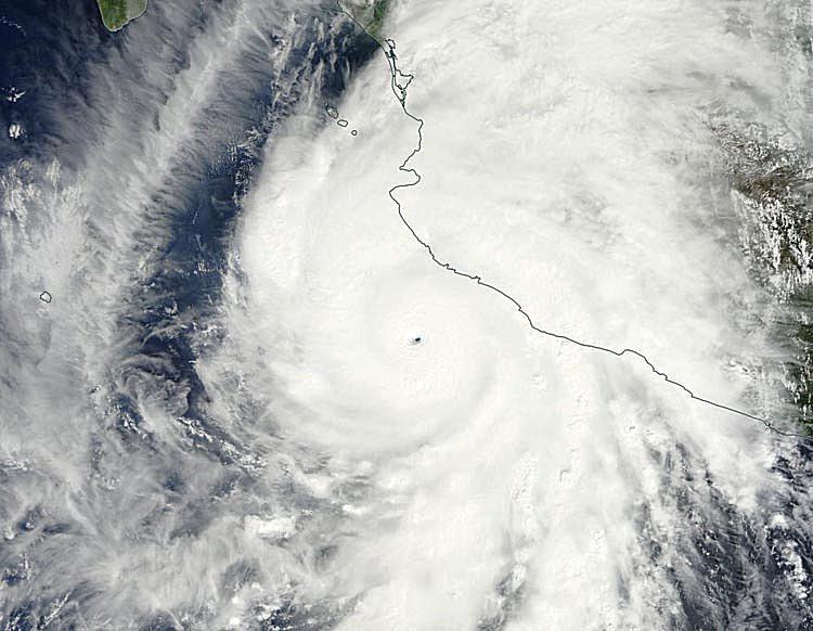 Hurricane Patricia 2015 satellite