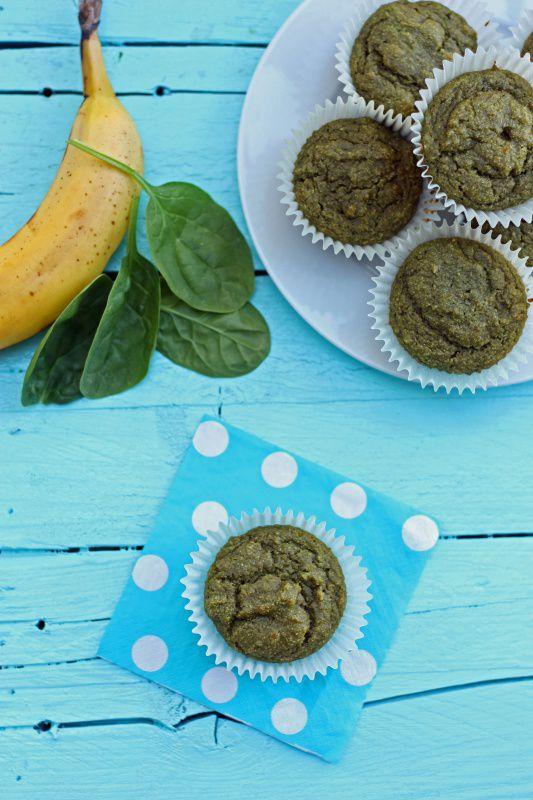 Scrumptious Fruit and Veggie Smoothie Muffins