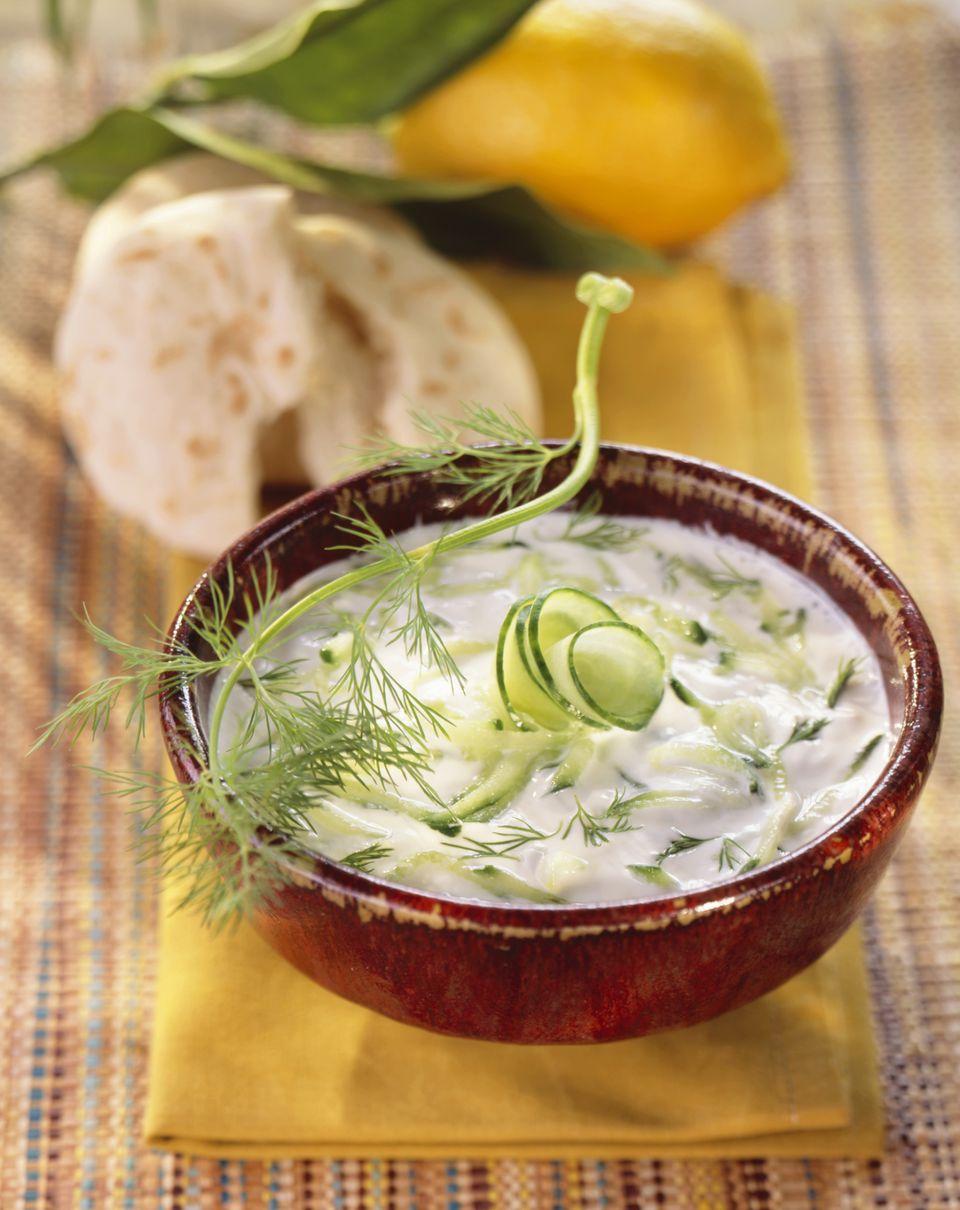 Tsatsiki - Greek Yogurt Cucumber Sauce