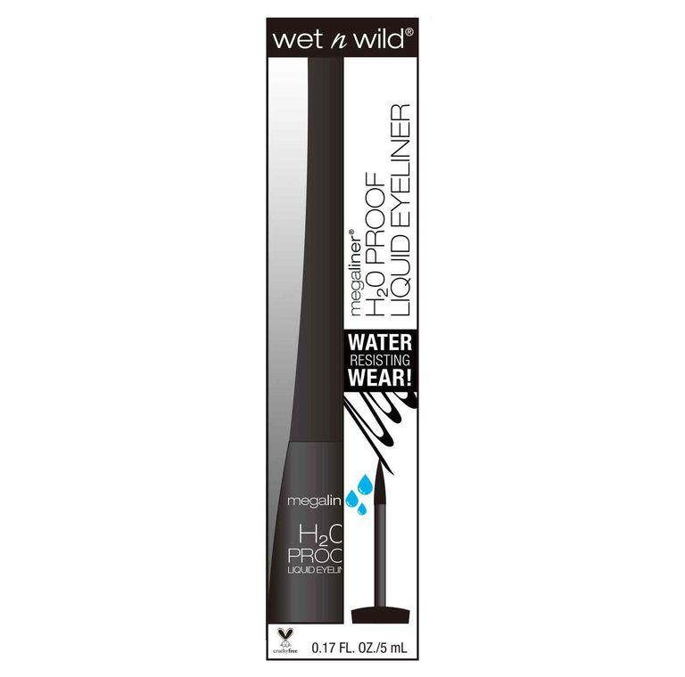 Wet n Wild® Megaliner® H2O Proof Liquid Eyeliner - 879 Black - 0.17 oz