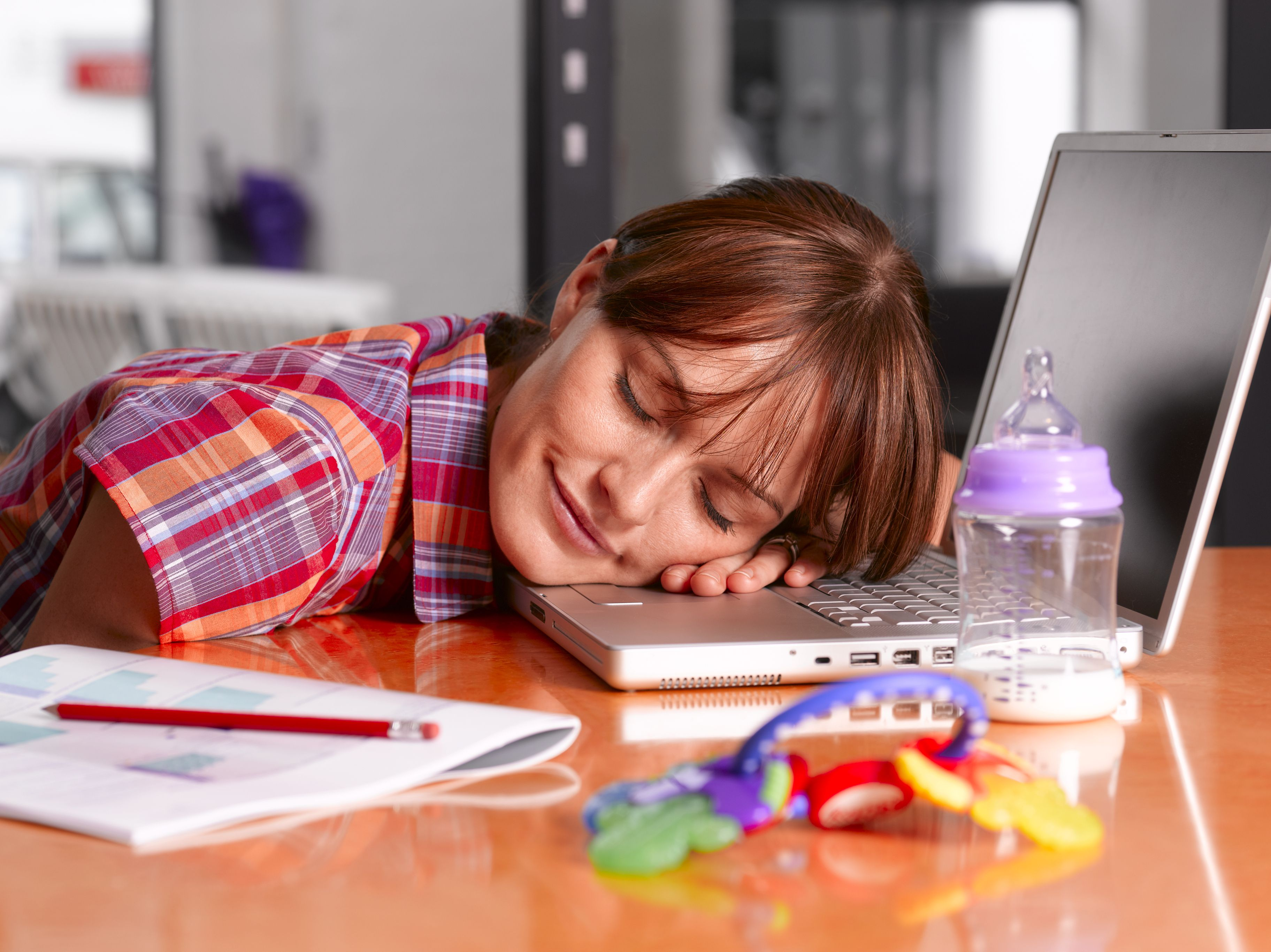 у жены хроническая усталость и раздражительность