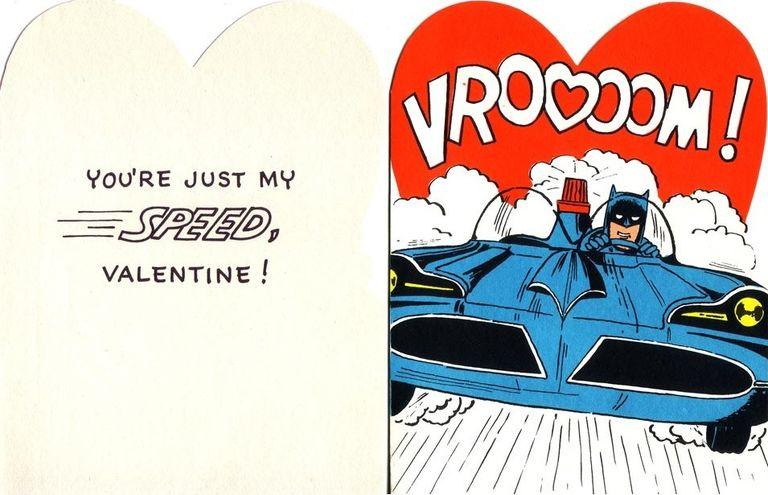 Batman Valentines Day Cards Through History – Batman Valentines Day Card