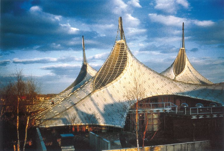 A Closer Look At Tensile Architecture - Tensile architecture