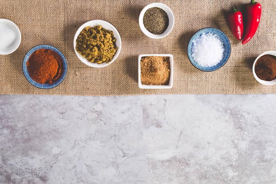 Spices for Carolina BBQ Rub