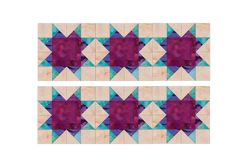 Aunt Addie's Album Quilt Block Pattern