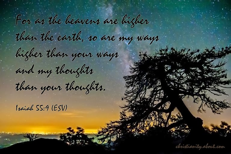 God's High Thoughts