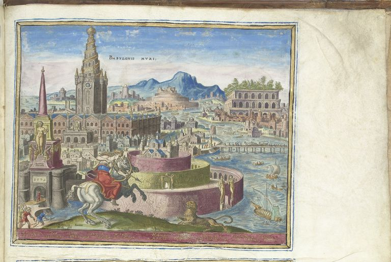 The Walls of Babylon (from the series The Eighth Wonders of the World), 1572
