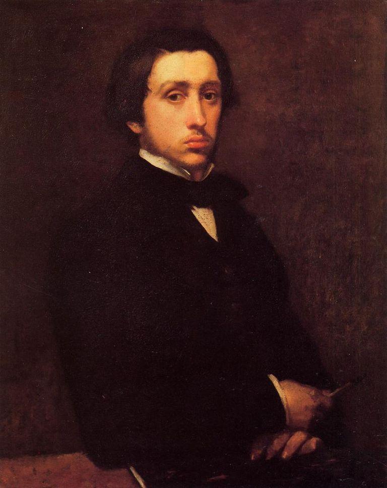 Pintor moderno Degas