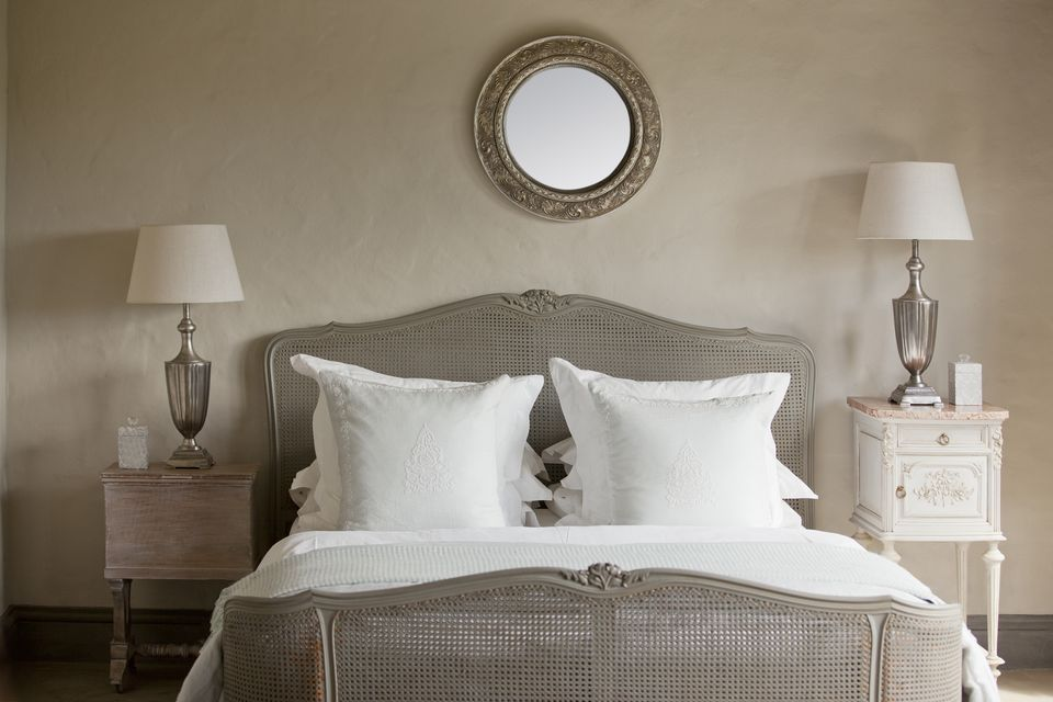 round mirror above bed - Mirror Bed Frame