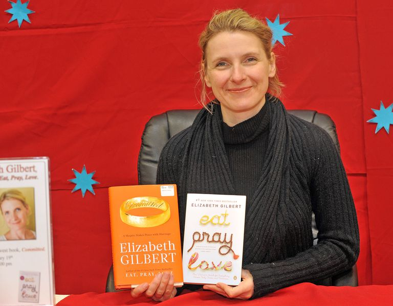 How to write a bestselling subtitle elizabeth gilbert signs copies of committed february ccuart Images