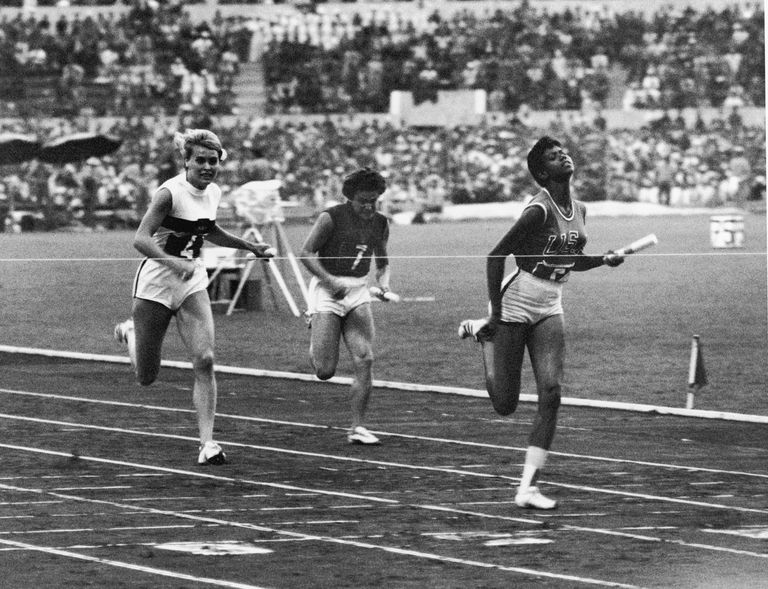 Wilma Rudolph, Olympic Legend and Former DePauw Coach, Dies at 54