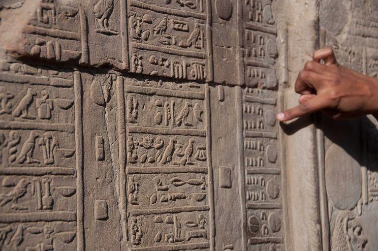 Calendario egipcio de Kom Ombo