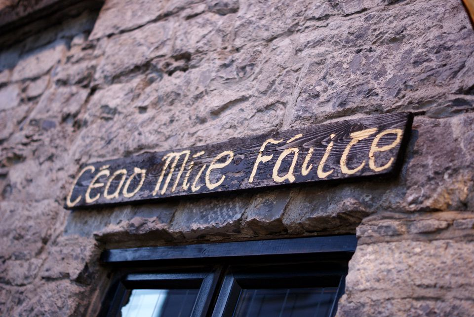 Cead mile failte, Irish 'Welcome'