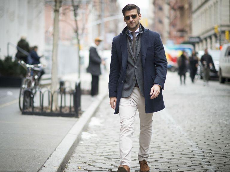 Street style men's jeans